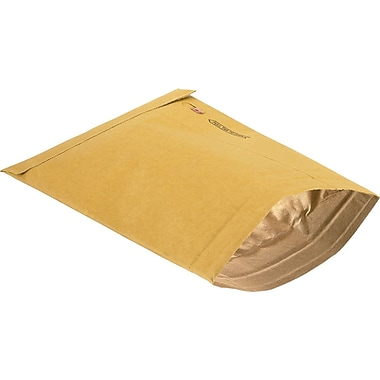 Staples® Open-End Padded Mailers, #0, 6in. x 9in.
