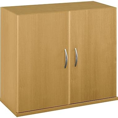 Bush Westfield Half-Height 2 Door Kit, Danish Oak, Installed