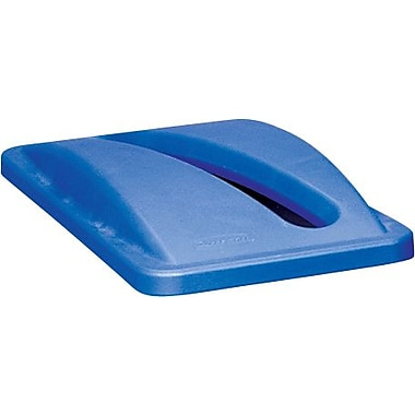 Rubbermaid® SlimJim Paper Recycling Top, Blue