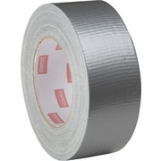 Staples® Cloth Utility Duct Tape, Silver, Standard Grade, 3 x 60 yrds, 16/Case
