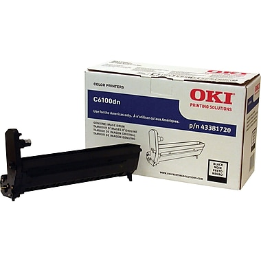 Okidata® 43381720 Black Drum Cartridge