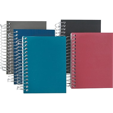 Staples® Accel Durable Poly Cover Notebook, 3-1/2in. x 5-1/2in.