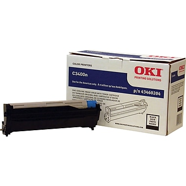 Okidata 43460204  Black Drum Cartridge