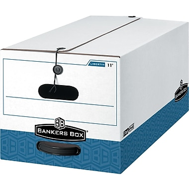 Bankers Box® Maximum-Strength Liberty Letter and Legal Size Storage Boxes