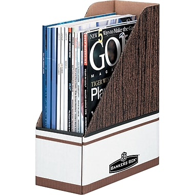 Bankers Box® Magazine File Holder, Letter Size