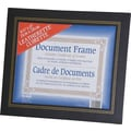 Nu-Dell Leatherette Frame, Black, 8 1/2in. x 11in.