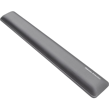 Fellowes Microban® Wrist Rest, Graphite