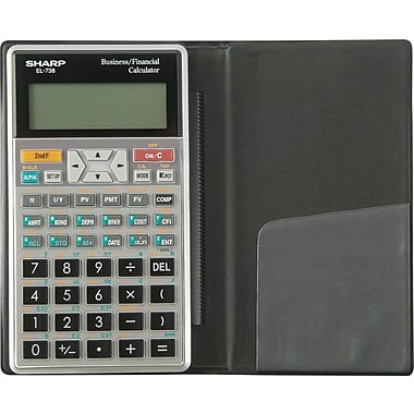 Sharp® EL-738 Financial Calculator