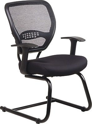 Office Star Air Grid Back Professional Guest Chair with Mesh Seat 663538