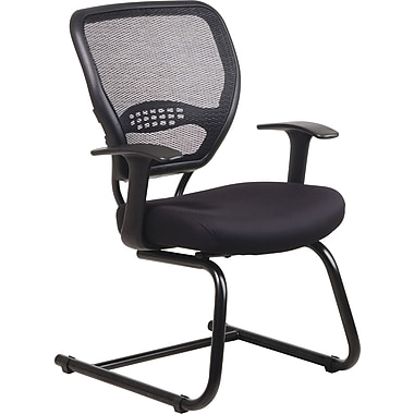 Office Star Air Grid™ Back Professional Guest Chair with Mesh Seat
