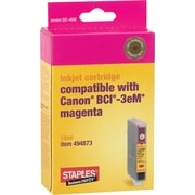 Staples® Compatible Magenta Ink Cartridge, Canon BCI-3eM (SIC-40M)