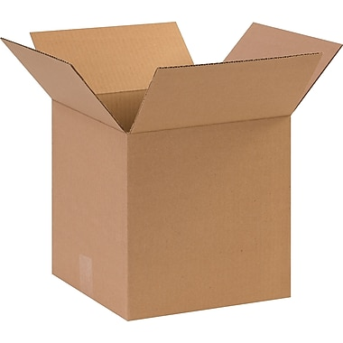 11in.(L) x 11in.(W) x 11in.(H) - Staples Corrugated Shipping Boxes
