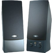 Cyber Acoustics CA-2012, 2-Piece Speakers with Headphone Jack