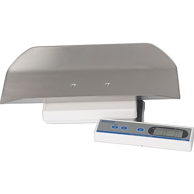 Brecknell Pediatric Scale with Stainless Steel Tray