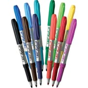 BIC® Mark-it™ Fine Point Permanent Markers, Assorted, Dozen