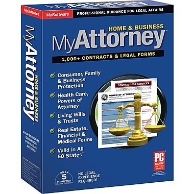 MyAttorney Home & Business for Windows (1-User) [Boxed]