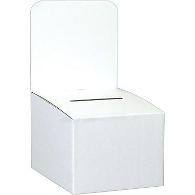 Staples® Ballot Box, 10in. x 10in. x 9in.