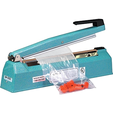 Staples® Impulse Hand Sealers. 12in. x 1/16in.