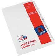 Avery(R) Premium Collated Legal Dividers Avery Style 11371, Legal Size, 1-25 & Table of Contents Tab Set
