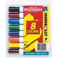 Avery Marks-A-Lot® Dry-Erase Markers, Chisel Tip, Assorted, 8/Pack