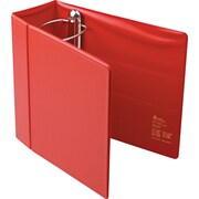"Avery Heavy-Duty Vinyl EZD™ Ring Reference Binder, Red, 1,050-Sheet Capacity, 5"" (Ring Diameter)"