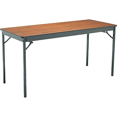 Barricks 5' Folding Laminate Table, 24in. Wide