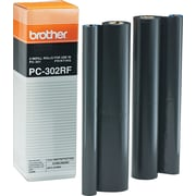Brother Fax Ribbon Refill Roll, 2/Pack (PC302RF)