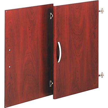 Bush Westfield Half-Height Door Kit, Hansen Cherry and Graphite Gray