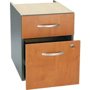 Bush Westfield 3/4 Pedestal File, Natural Cherry/Graphite Gray
