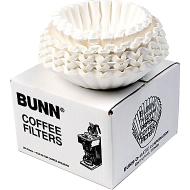 Bunn Coffee Filters, 12-Cup, 250/Pack