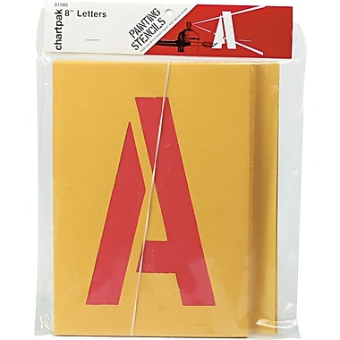 Painting Stencil Set, 8in. Capital Letters