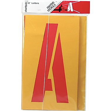 Painting Stencil Set, 12in. Capital Letters