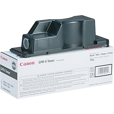 Canon GPR-6 Black Toner Cartridge (6647A003AA)