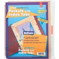 Cardinal® Poly Pockets with Index Tabs