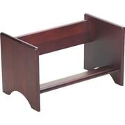 Carver Mahogany Wood Binder Rack