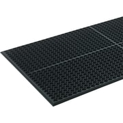 "Crown Safewalk-Light Heavy-Duty Anti-Fatigue Mat, 36"" x 60"", Black (WSCT35BK)"