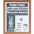 Dax Plastic Poster Frame with Plexiglass Window, 16 x 20