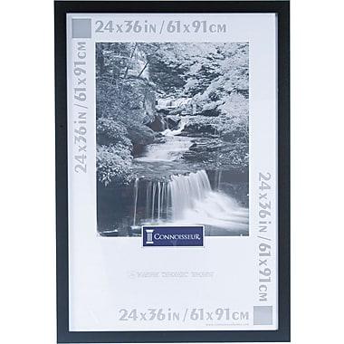 dax black plastic poster frame plastic window 24 x 36