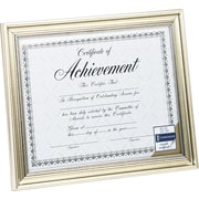 "DAX Document Frame, Antique Silver, 8 1/2"" x 11"""