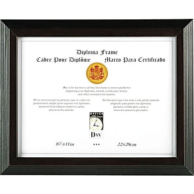 Solid Wood Award and Certificate Frames