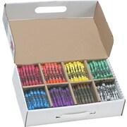Dixon Crayon Class Packs, 400 Large Size, 50/Color
