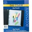 Day-Timer® Zip Pouch, Folio Size