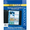 Day-Timer Business Card Holders, Folio Size
