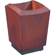Eldon® Executive Woodline II Pencil Holder, 4 5/8H x 3 1/4W x 3 1/4D, Mahogany Finish