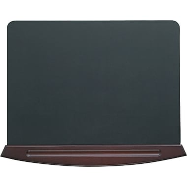Eldon® Executive Woodline II Desk Pad, 3/4in.H x 25 1/4in.W x 19 3/4in.D, Mahogany Finish