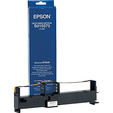 Epson 4-Color Nylon Ribbon for Epson LX300 Printer