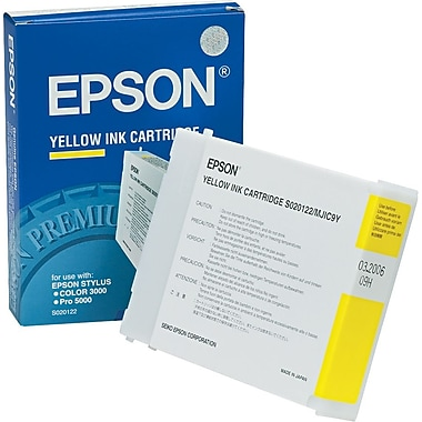 Epson® S020122 Yellow Ink Cartridge