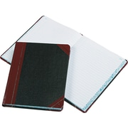 "Esselte Record Book, Black/Red, 9 5/8"" x 7 3/4"", 300 Pages/Bk"