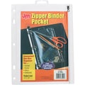 Zipper Ring Binder Pockets