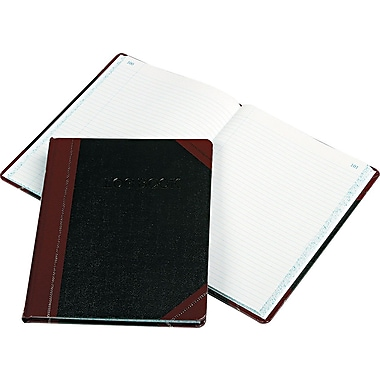 Log Book, 10-3/8in. x 8-3/8in., 150 Pages